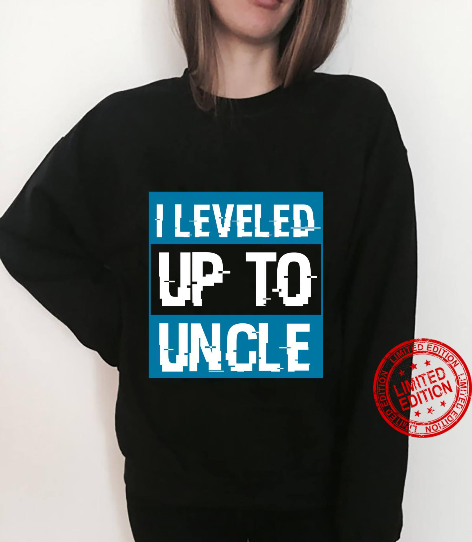 Video Game Uncle To Be Pregnancy Announcement Shirt sweater