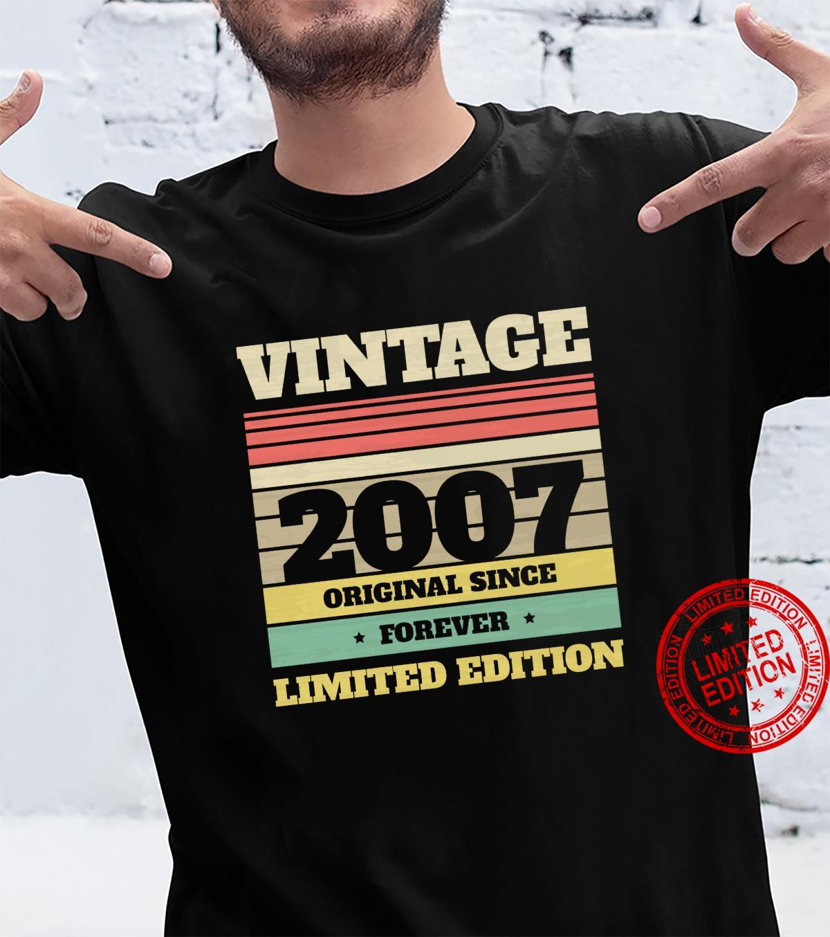 Vintage 2017 Birthday Limited Edition 13 Years Old in 2020 Shirt