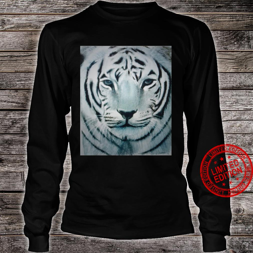 White Tiger Shirt long sleeved