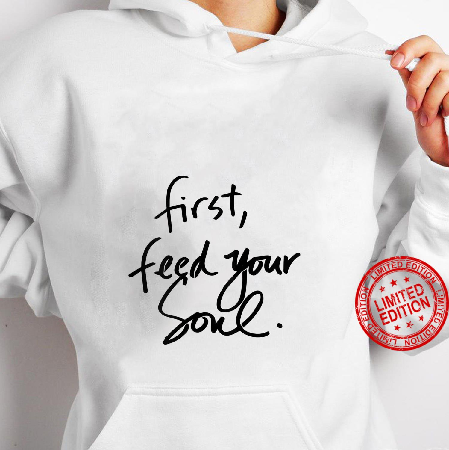 Womens First feed your soul Teachers Blessed Mama Shirt hoodie