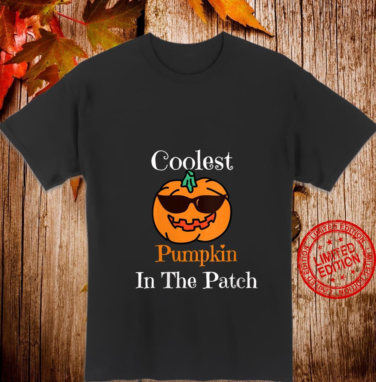 Womens Halloween Coolest Pumpkin In The Patch Shirt