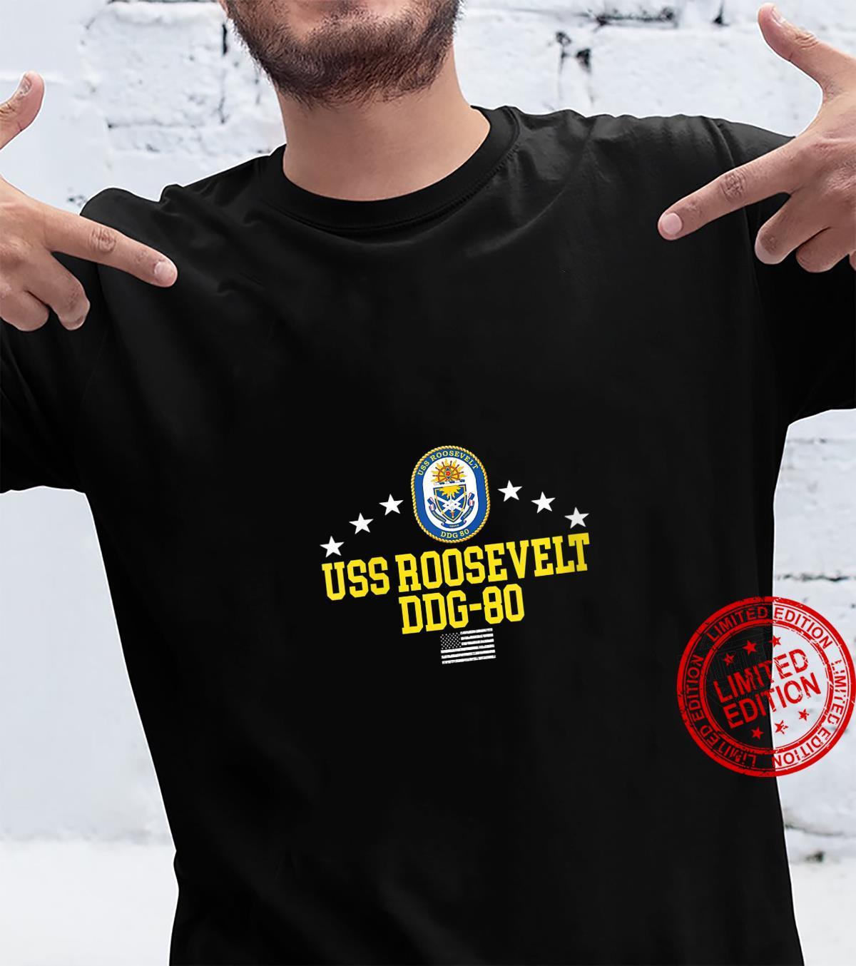 Womens USS Roosevelt DDG80 Shirt