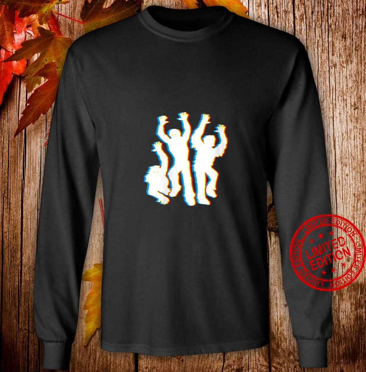 Womens Zombie Trippy Halloween Costume Psychedelic Zombies Shirt long sleeved
