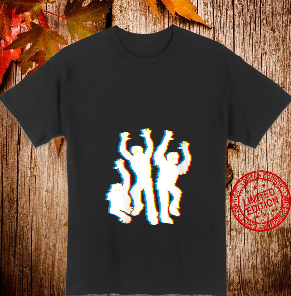 Womens Zombie Trippy Halloween Costume Psychedelic Zombies Shirt