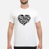 World Animals day Love Heart icon Planet Earth Day Shirt