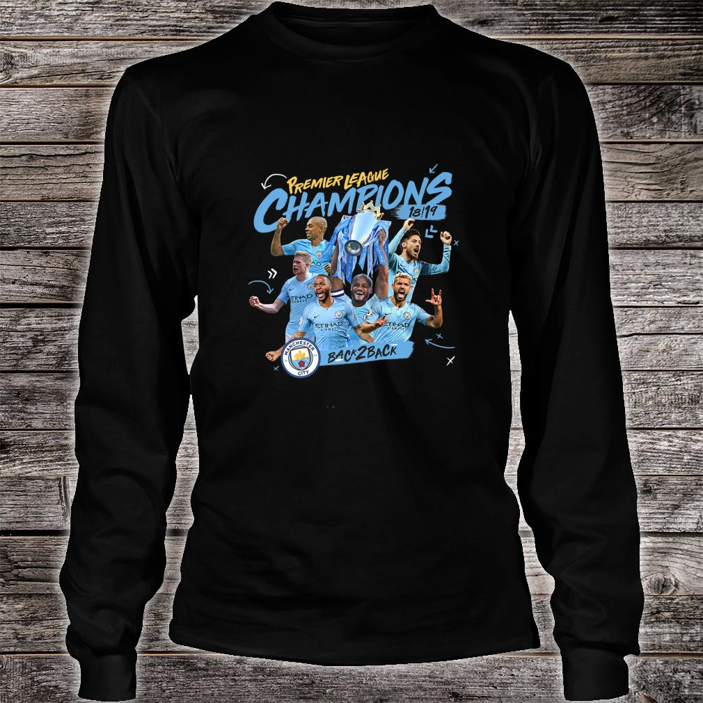 chester City Premier League Champions Shirt long sleeved